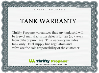 Propane Tanks - Lease To Own | Thrifty Propane