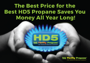 Propane Delivery at Lowest Prices | Thrifty Propane